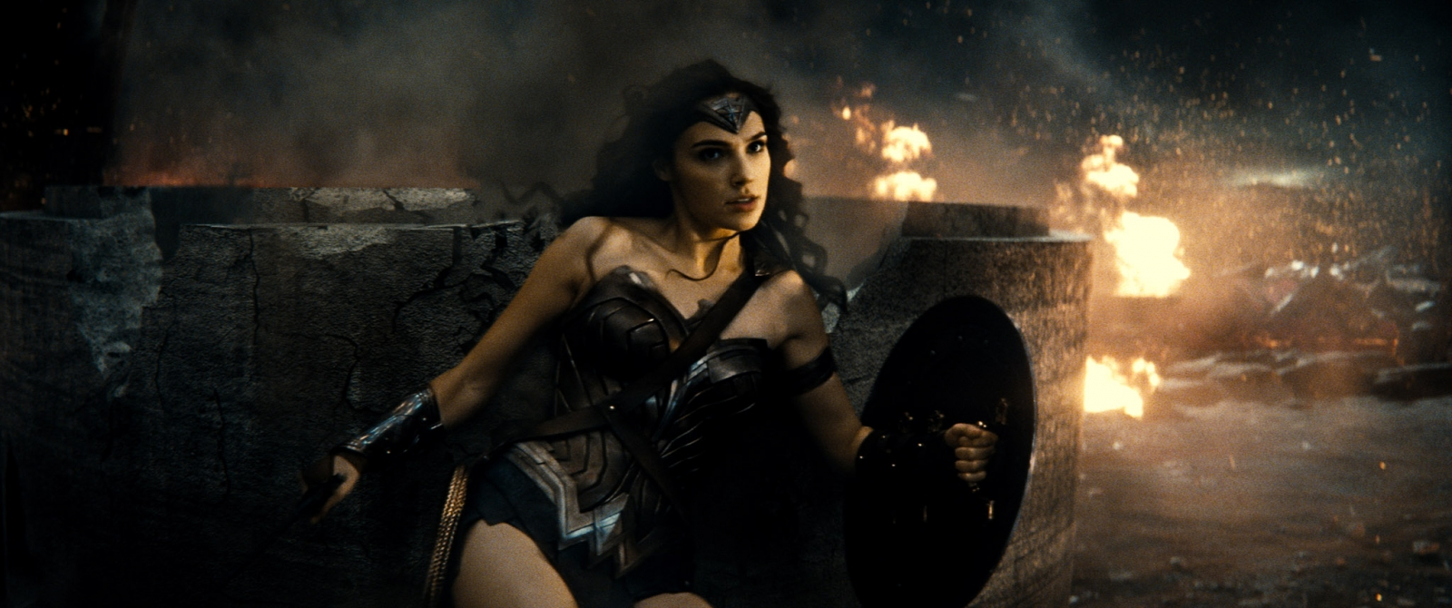 Wonder Woman in Batman v Superman