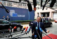 EU Summit: David Cameron