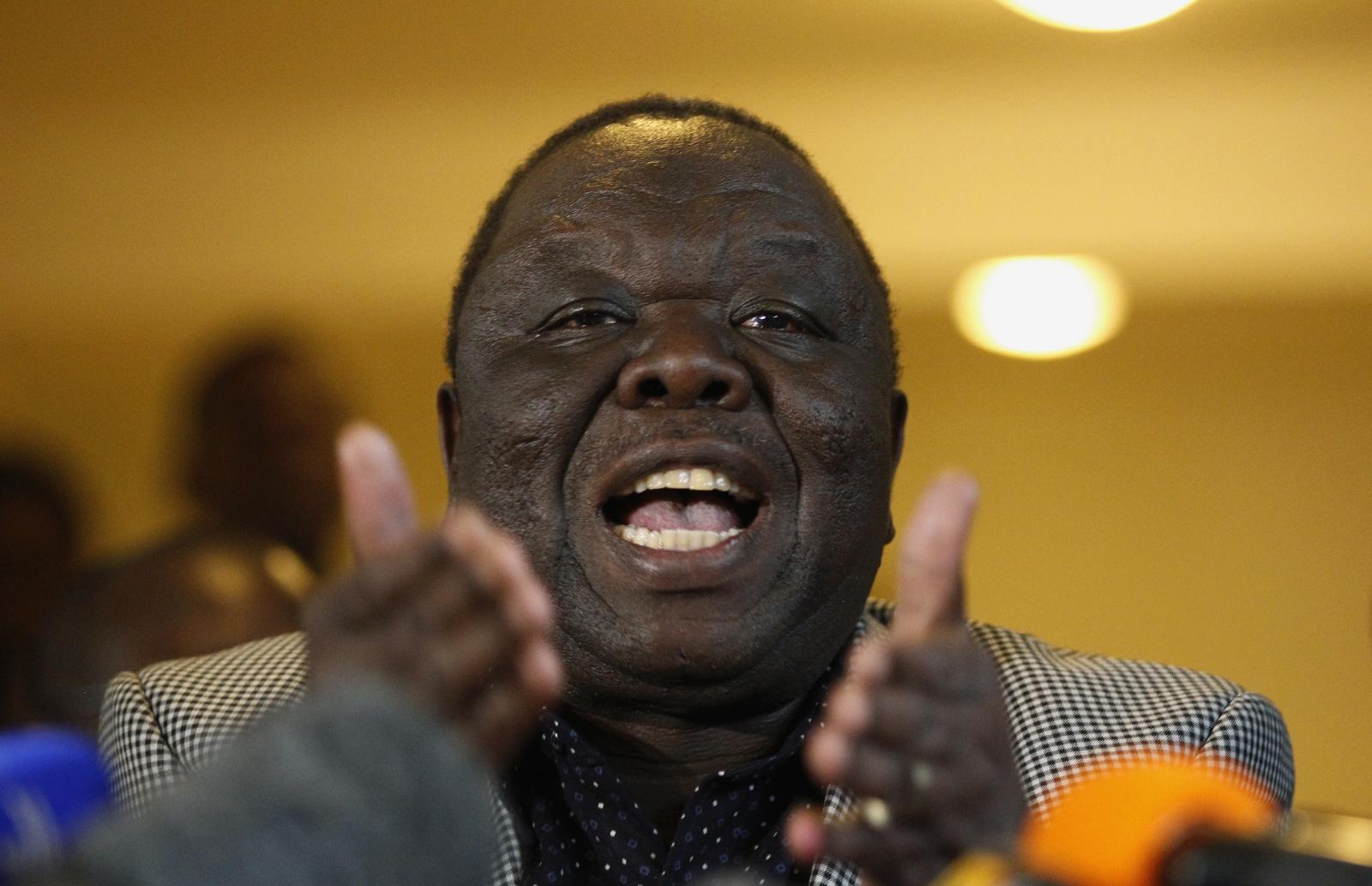Zimbabwe\'s opposition leader Morgan Tsvangirai