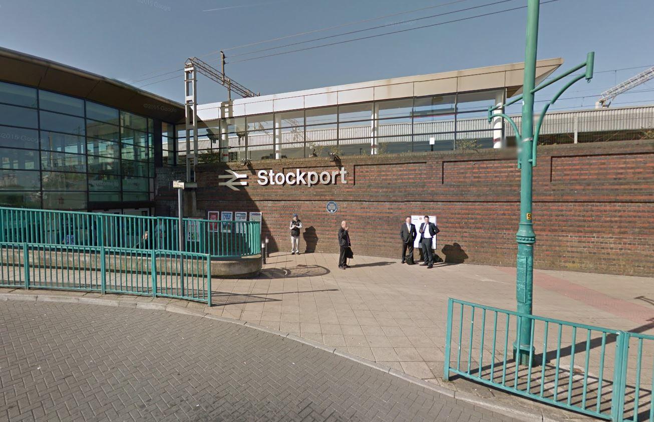 stockport train station