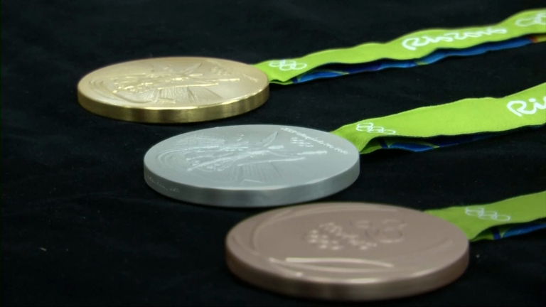 New sensory Olympic medals created for Rio 2016