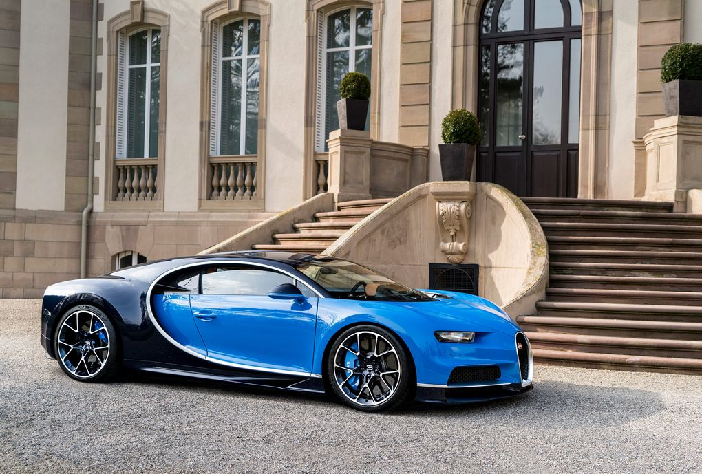 chasing 300mph: bugatti chiron to set new production car speed record