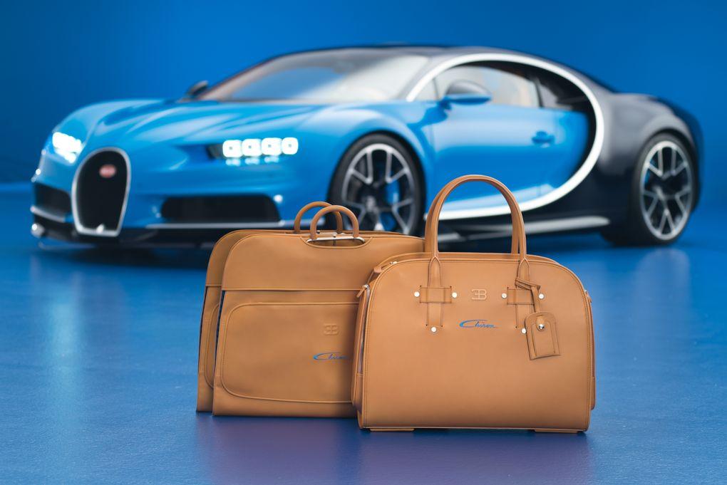 Bugatti Chiron luggage