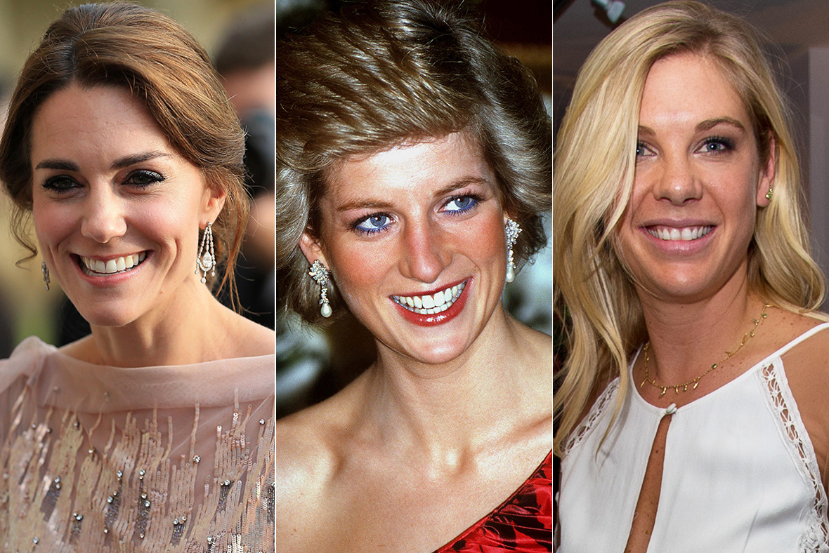 Kate, Diana, Chelsy