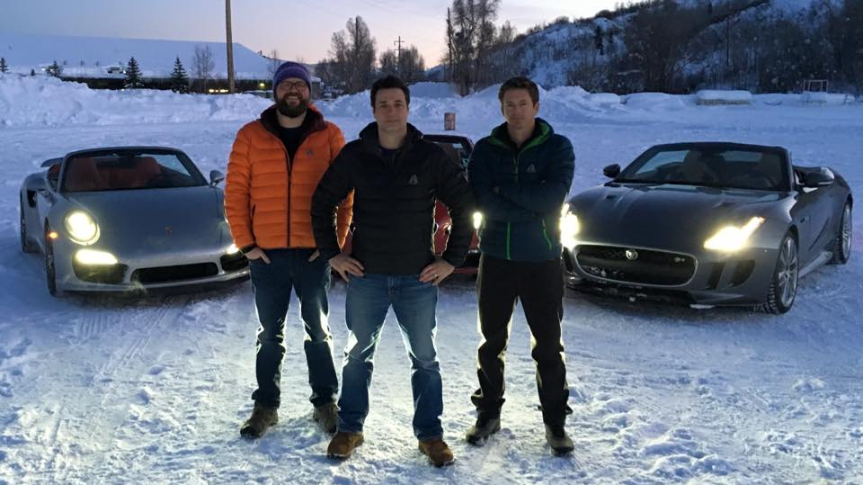 Adam Ferrara, Tanner Foust and Rutledge Wood