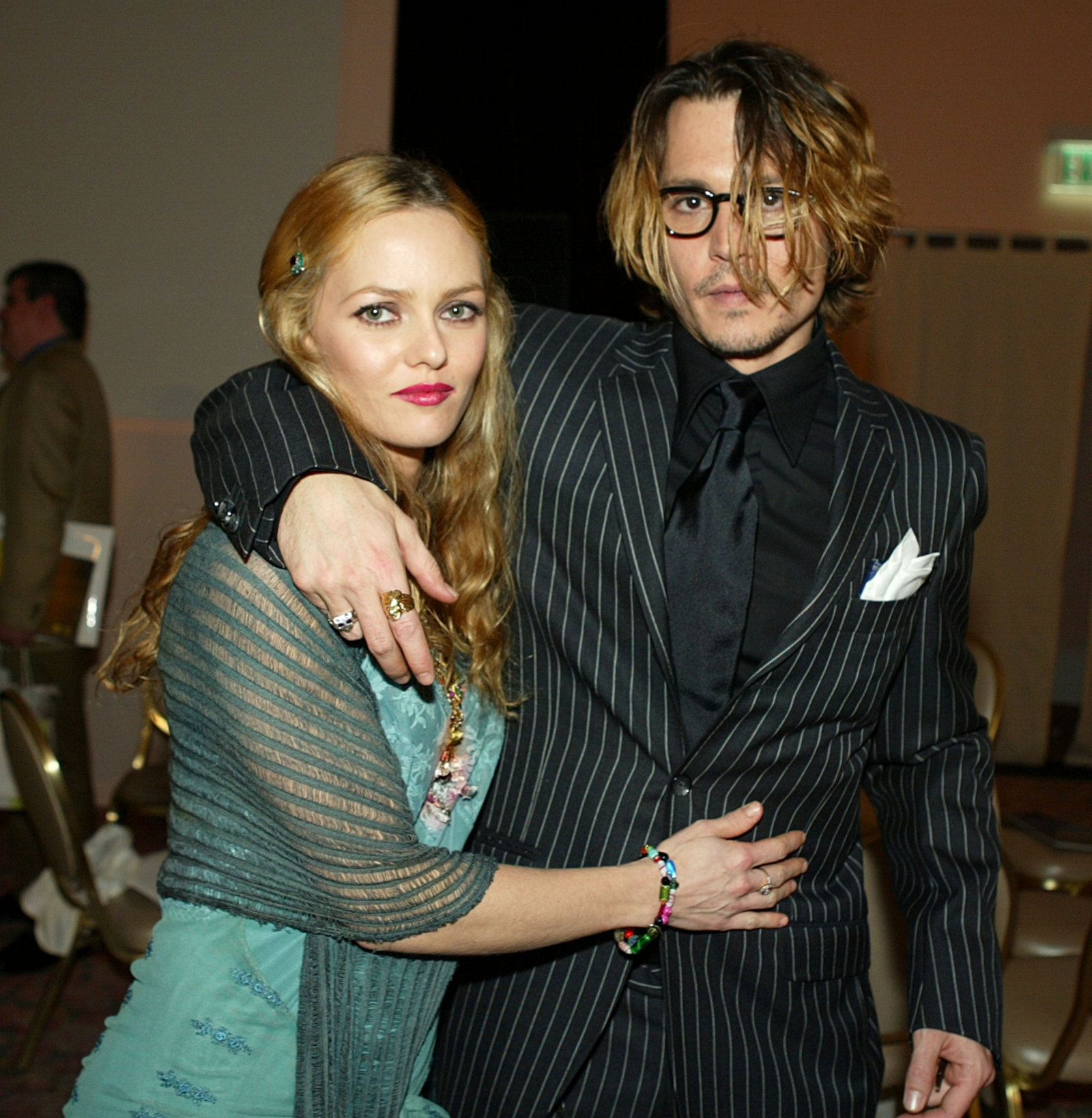 Vanessa Paradis and Johnny Depp