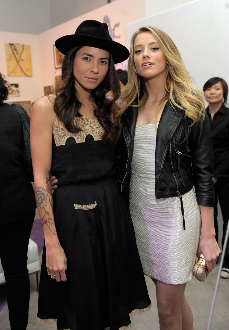 Tasya van Ree and Amber Heard