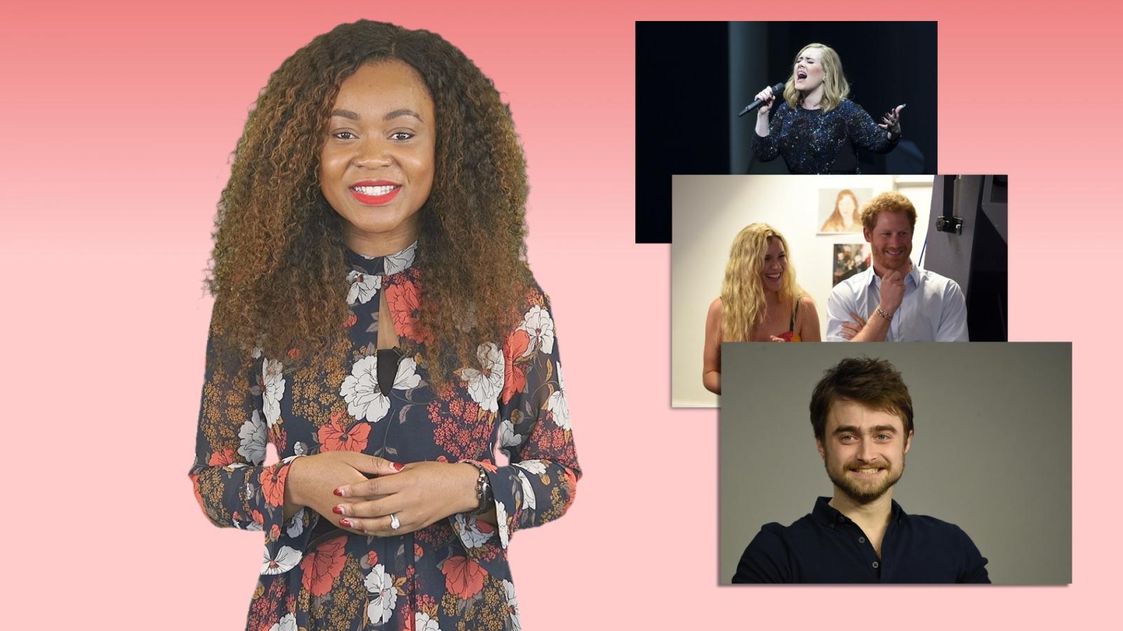 A-List Insider: Adele set for number one after Glastonbury set, Daniel Radcliffe open to Harry Potter return
