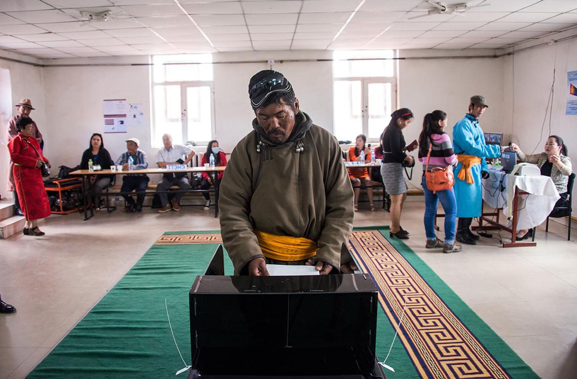 Mongolia election