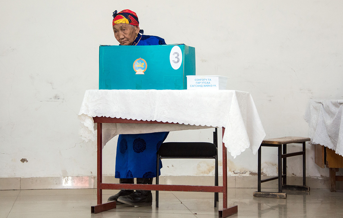 Mongolia election