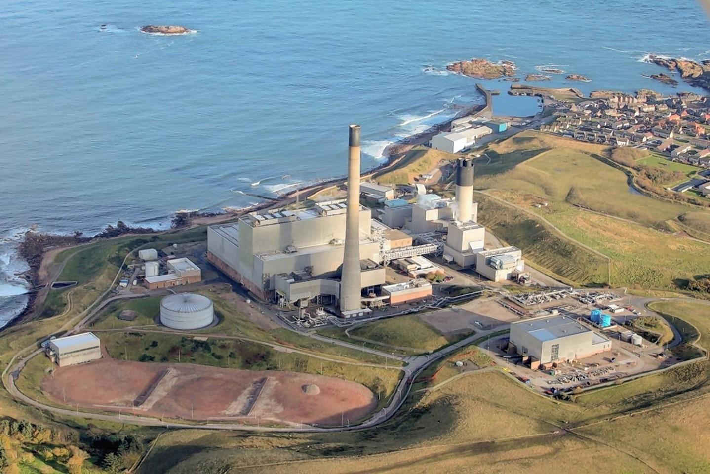 Peterhead gas plant