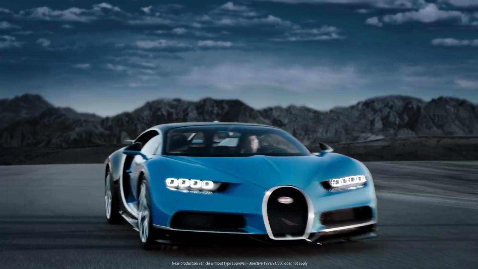 Bugatti Cheron to set car speed record
