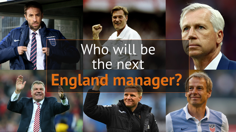 Who will be the next England manager?