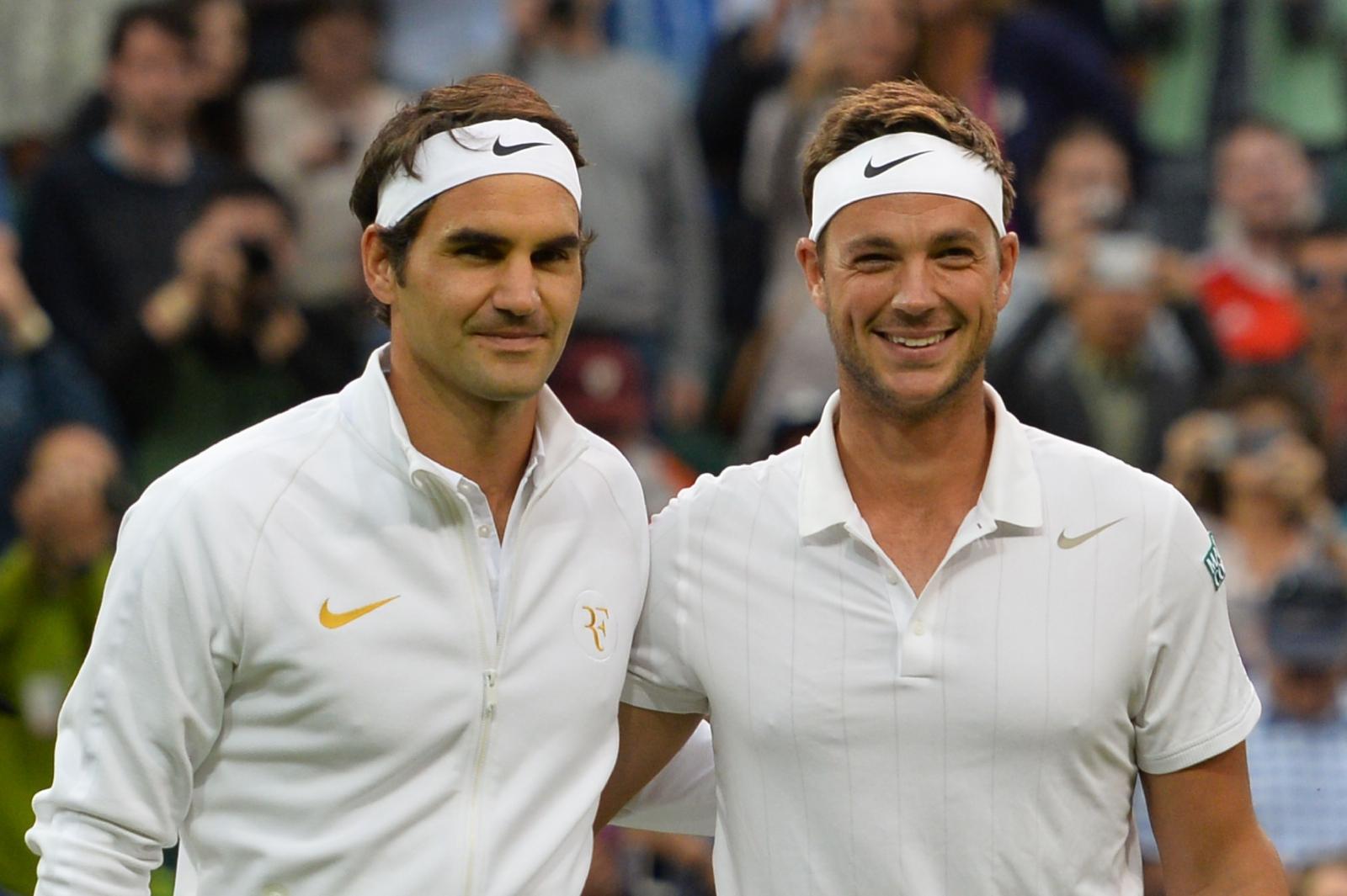 Roger Federer vs Marcus Willis