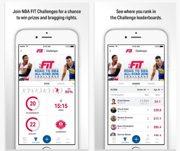 NBA Fit App