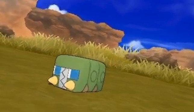 Pokemon Sun and Moon leak green box