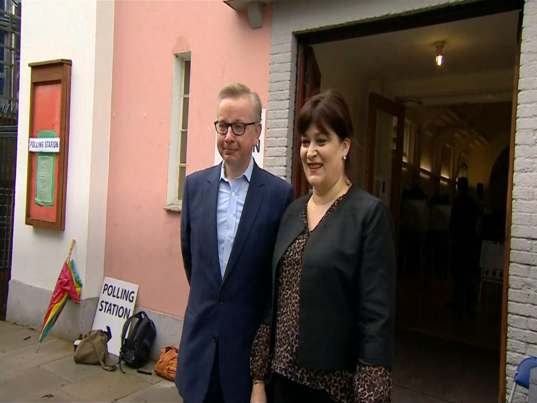 Michael Gove announces shock Tory Leadership bid