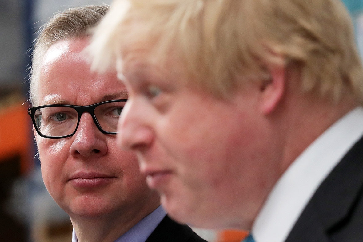 Michael Gove Boris Johnson