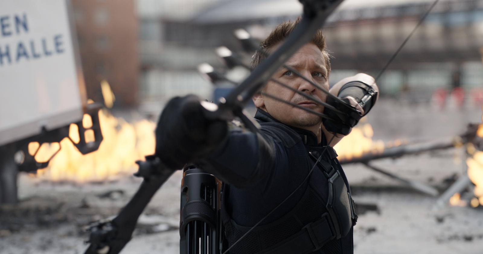 Jeremy Renner in Captain America: Civil War