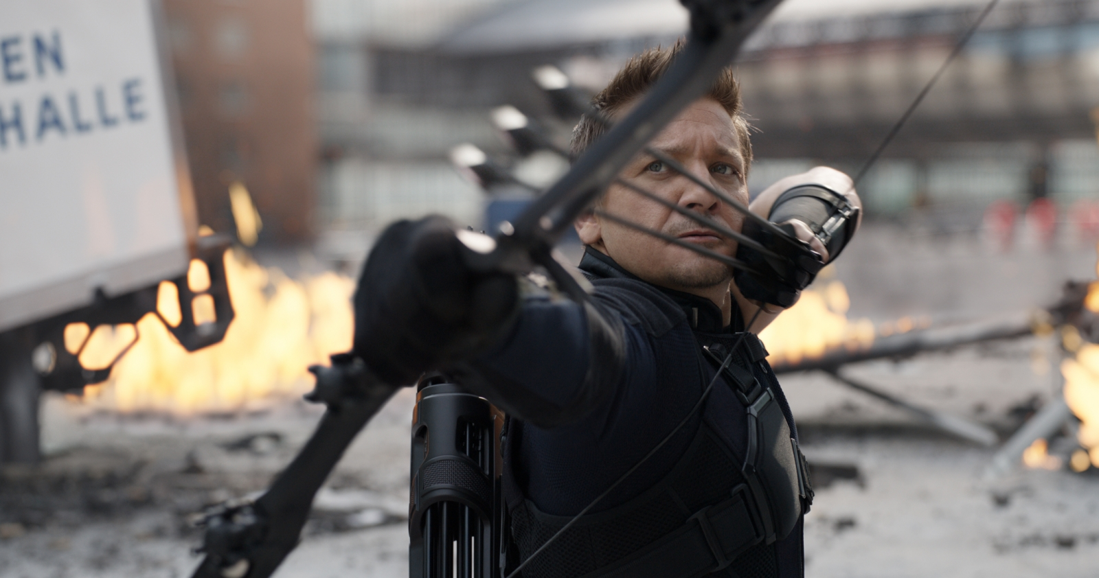 Jeremy Renner in Captain America: Civil War