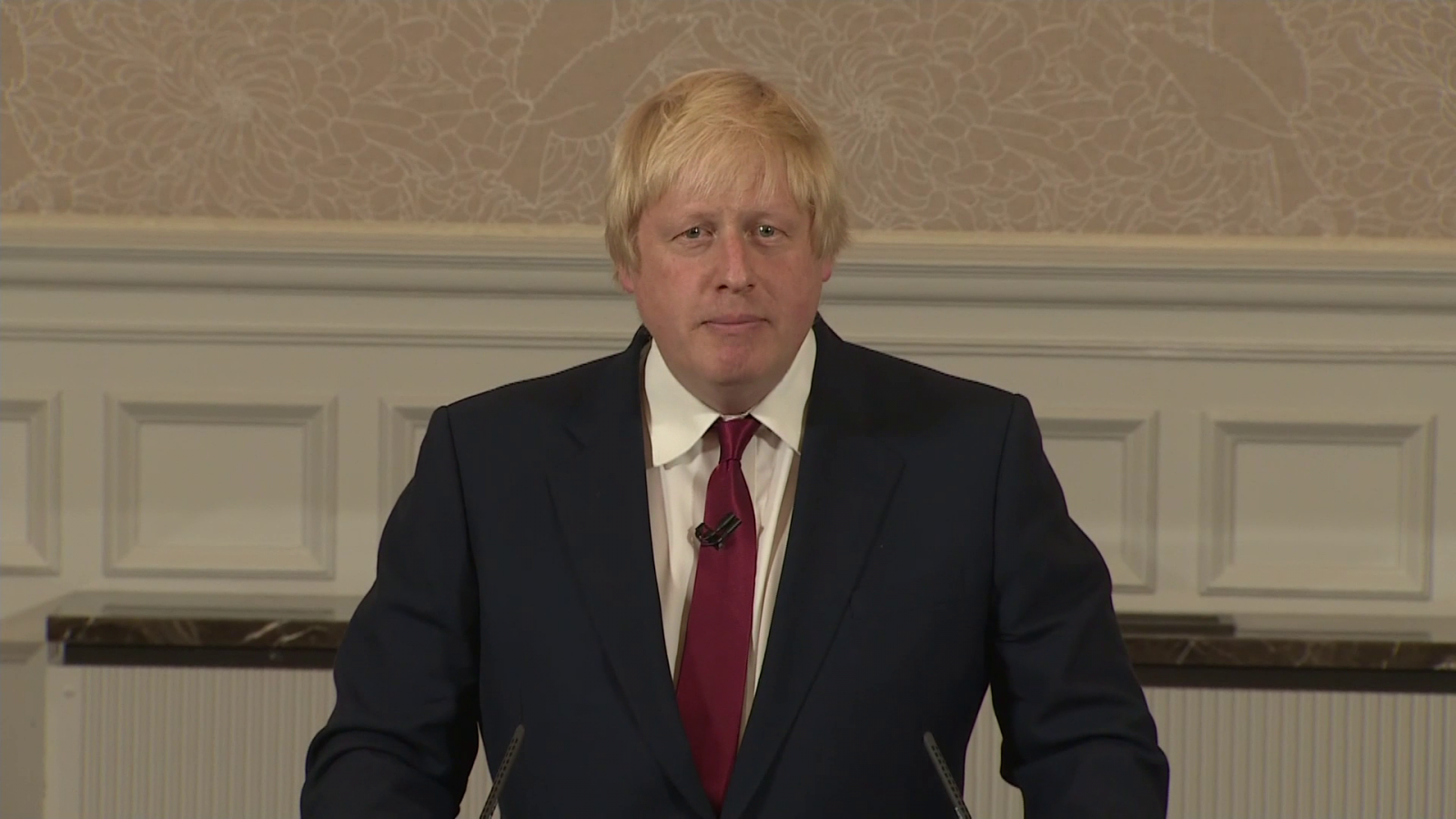 Boris Johnson pulls out of Tory leadership race