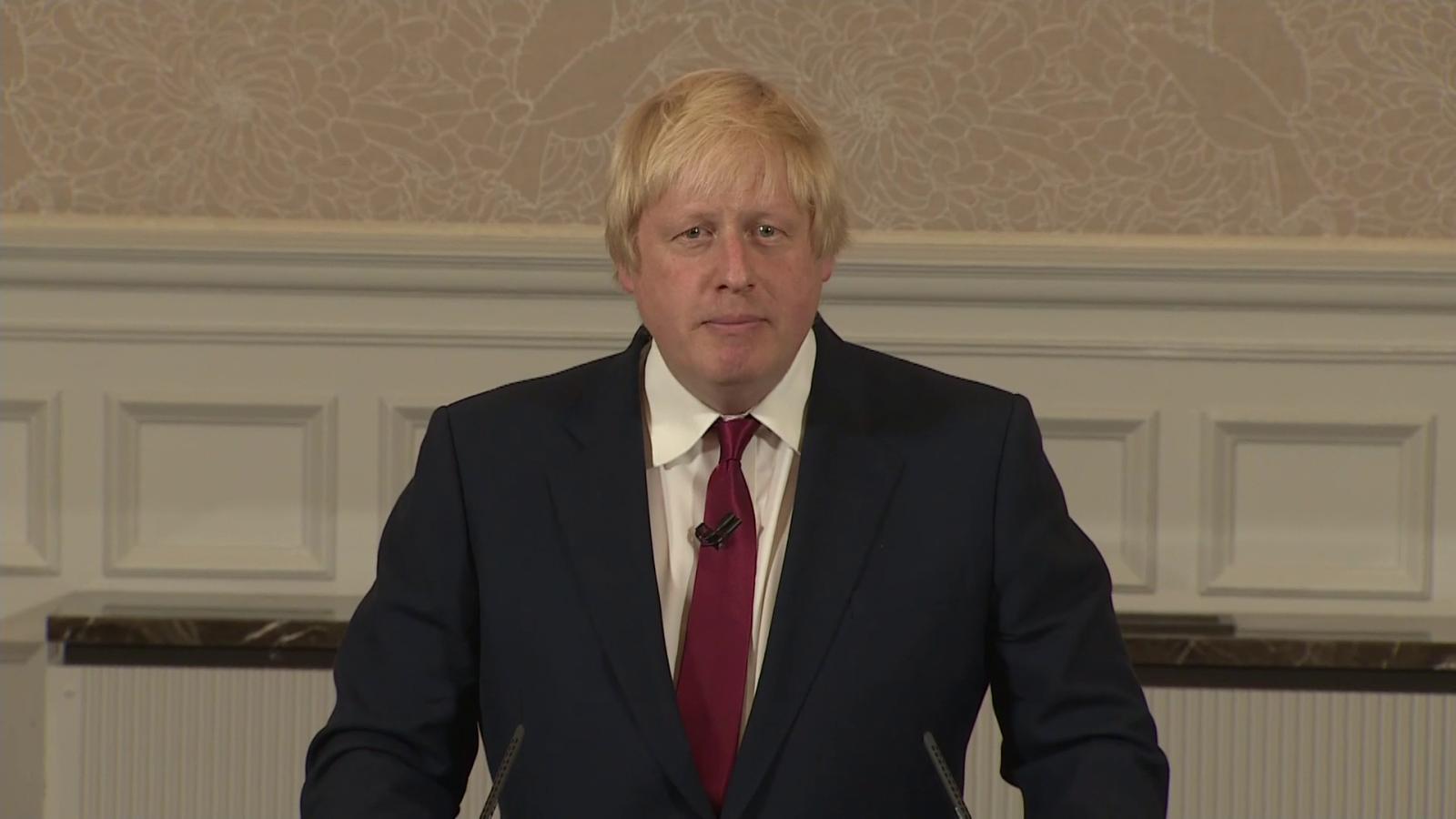 Watch Boris Johnson speech: 'You who have waited ...