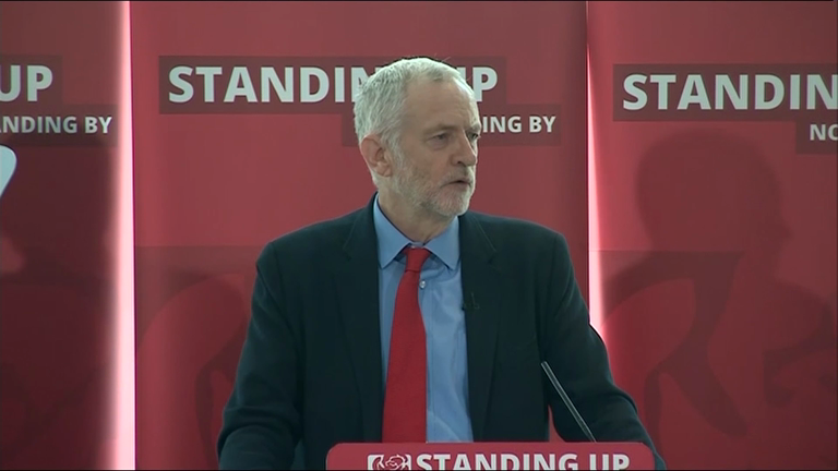 Corbyn condemns anti-semitic and racial abuse