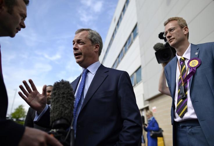 Nigel Farage in Swansea