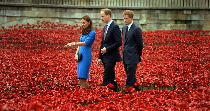 Kate Middleton Poppy field