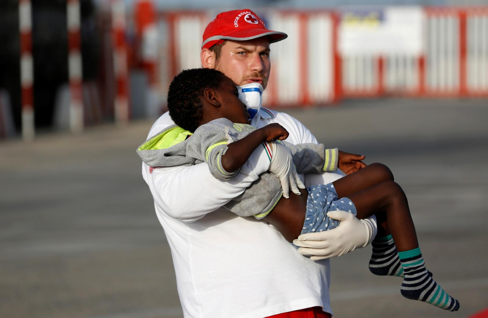Mediterranean migrants libya italy 2016