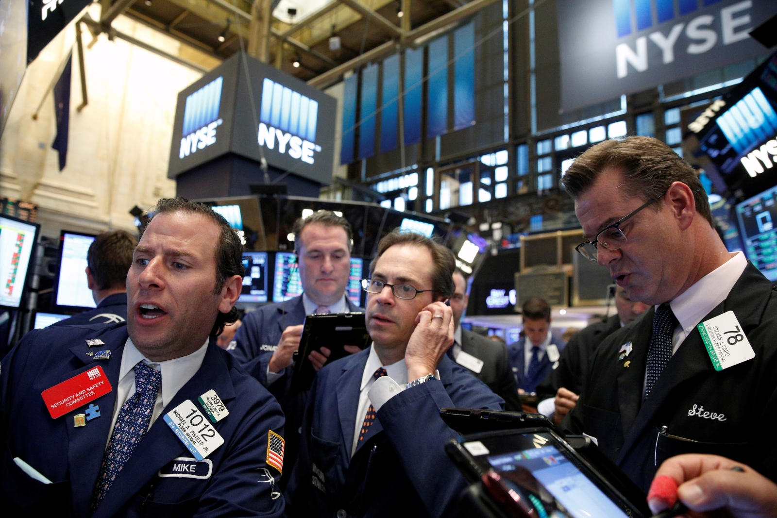 US markets post Brexit