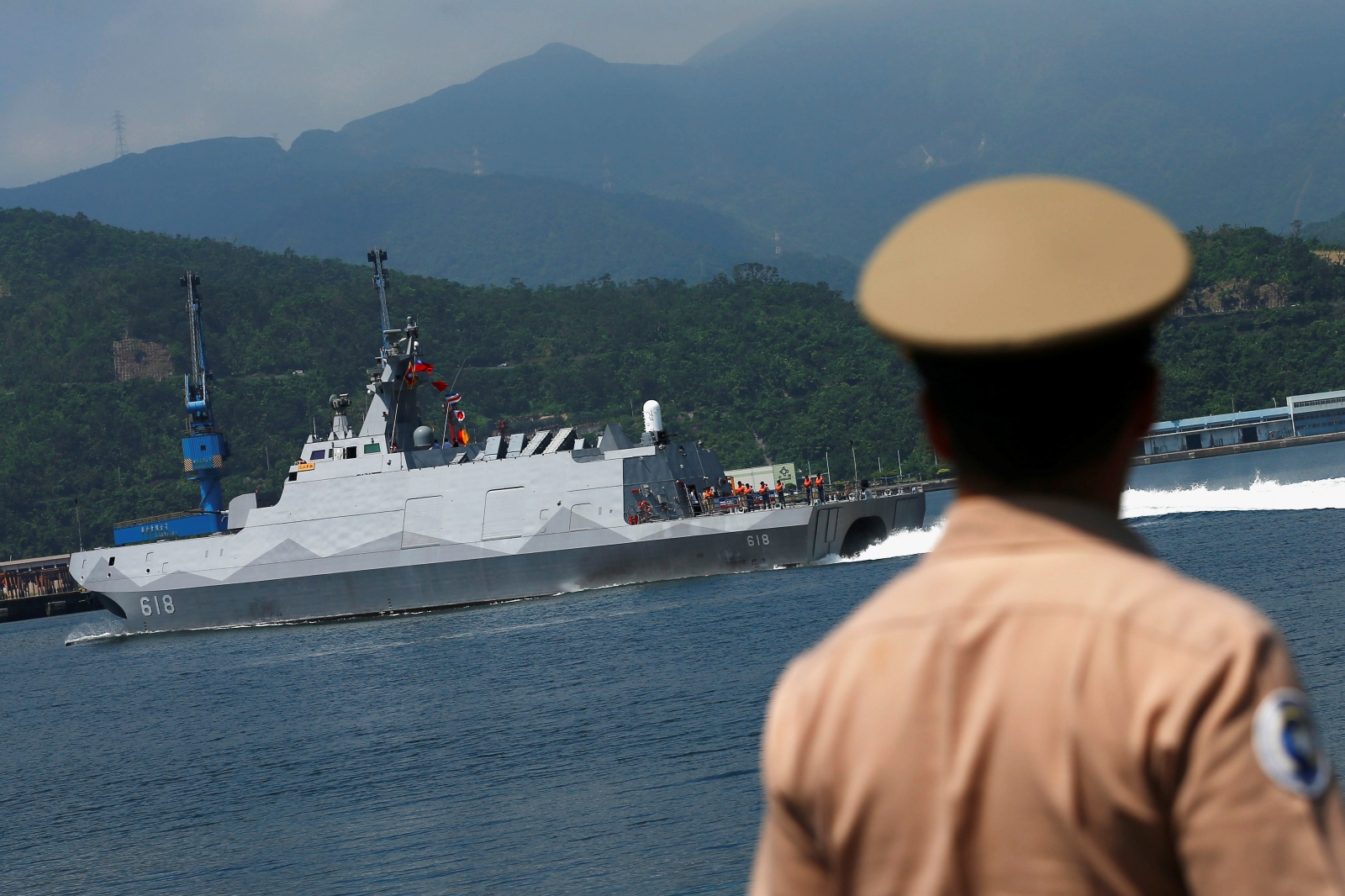 Taiwan missile China