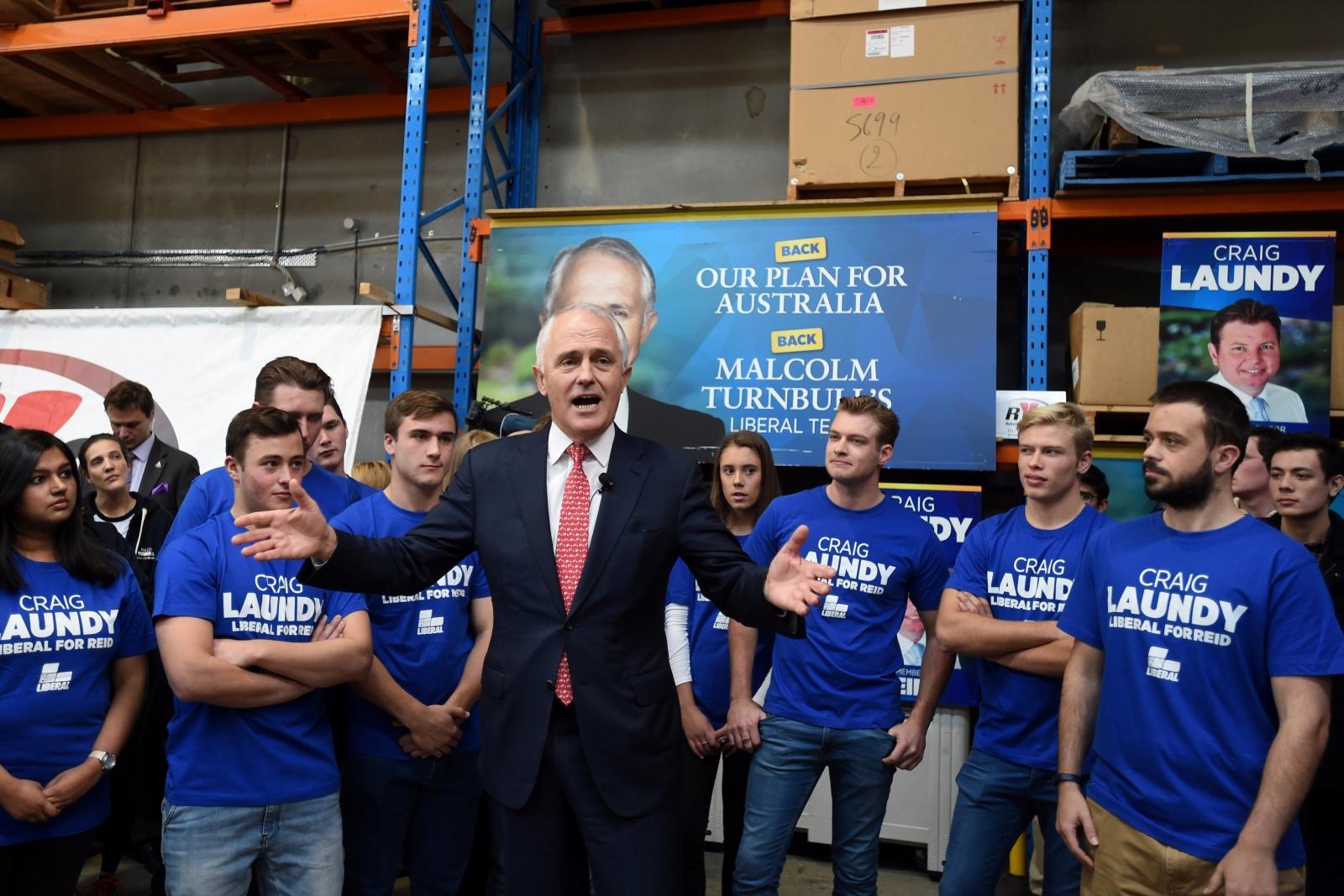 Australia election campaign