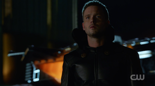 patrick j adams teases hourman return in legends of