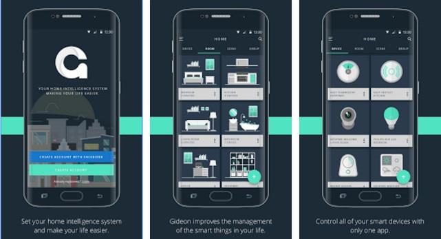 The Gideon AI app