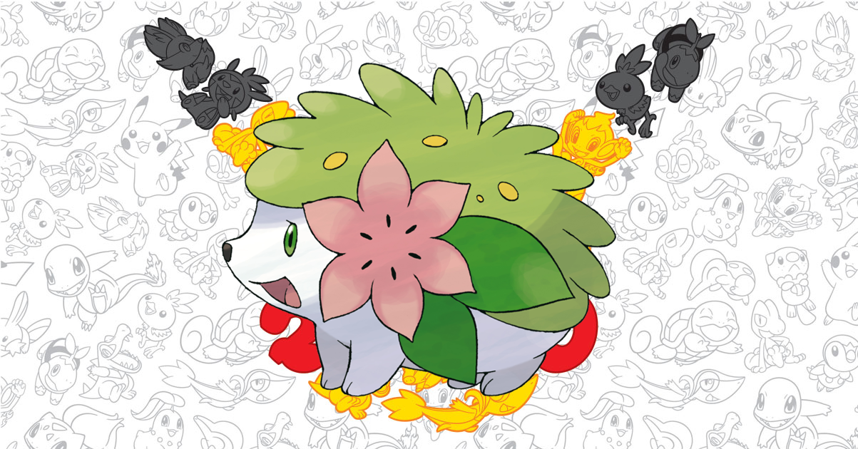 Shaymin Pokemon main