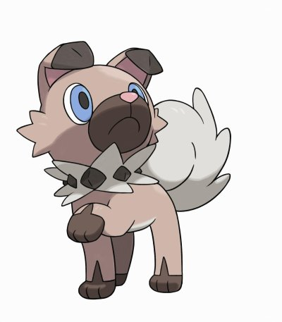 Pokemon Sun and Moon Rockruff