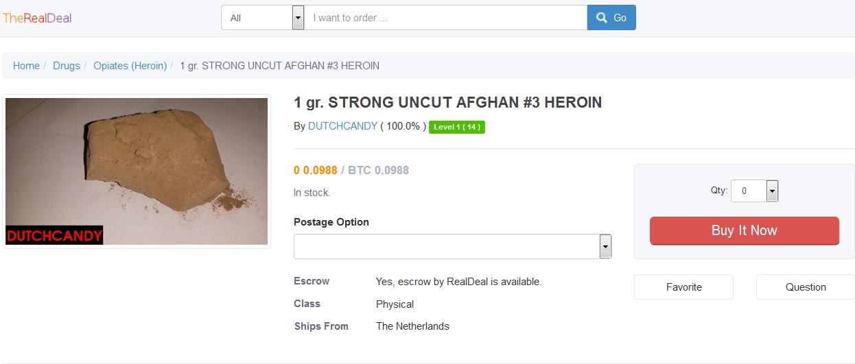 Afghan Heroin