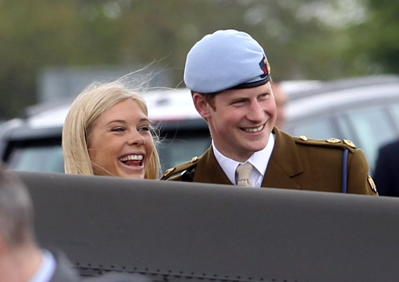 Chelsea Davy and Prince Harry