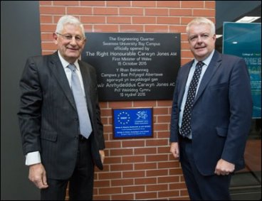 Richard B Davies and Carwyn Jones