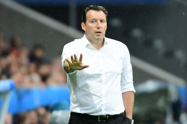 Marc Wilmots looks concerned