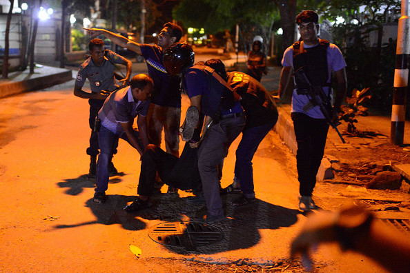 Dhaka restaurant shooting