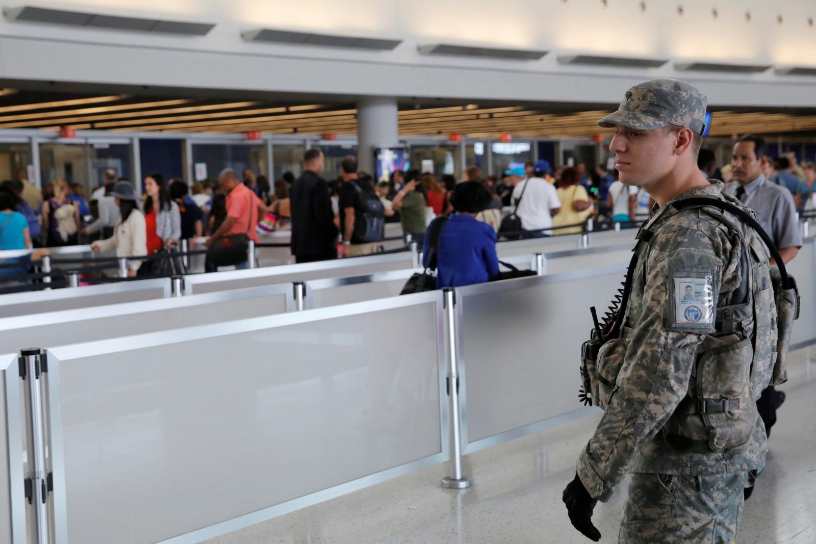 New York JFK airport security
