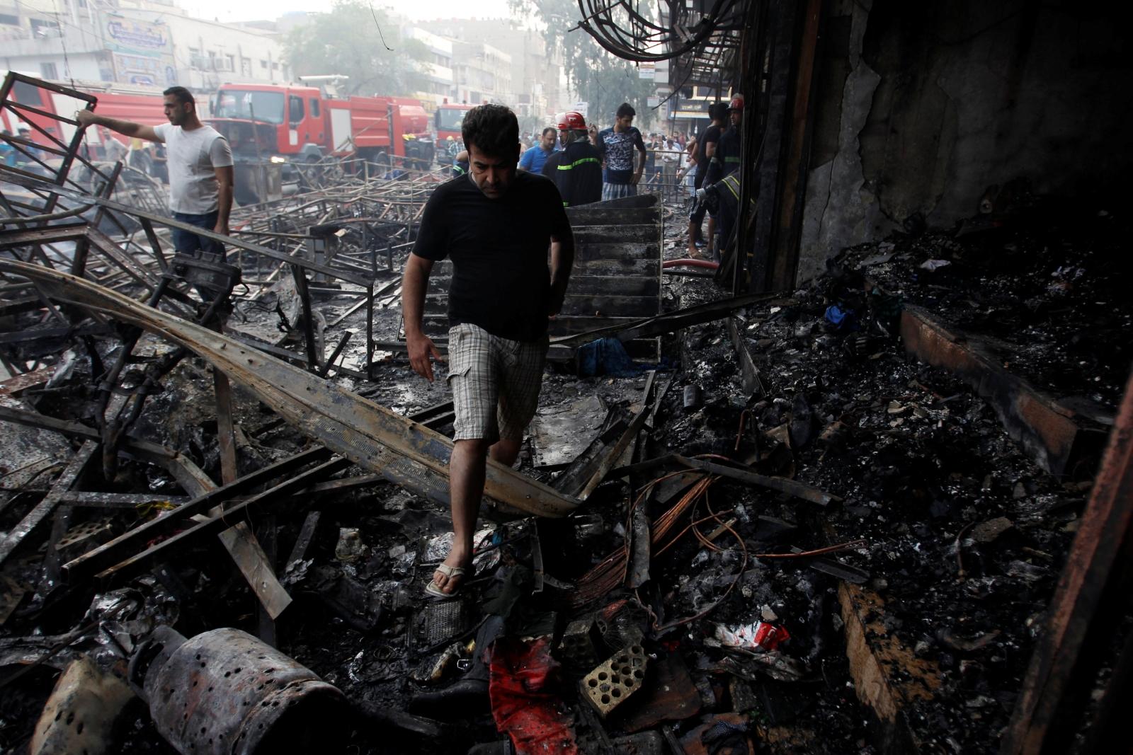 Baghdad bombing 3 July 2016