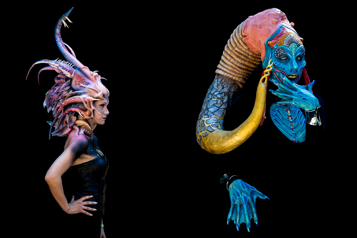 These stunning creations form the World Body Painting Festival are ...