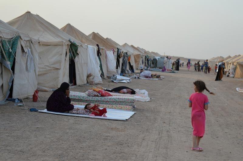 Displaced people of Falluja