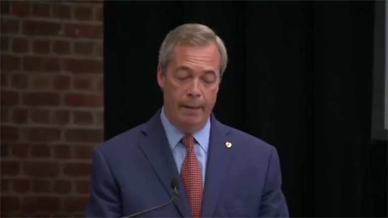Twitter reacts to shock Nigel Farage resignation weeks after UK leaves the EU