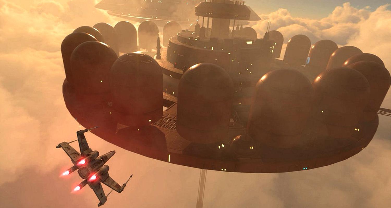 Star Wars Battlefront Bespin DLC Cloud City