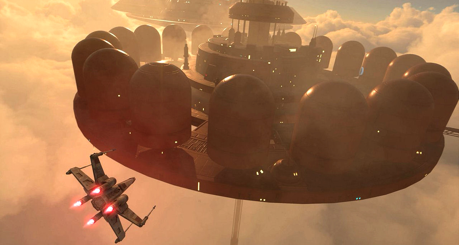 Star Wars Battlefront Bespin DLC Cloud City