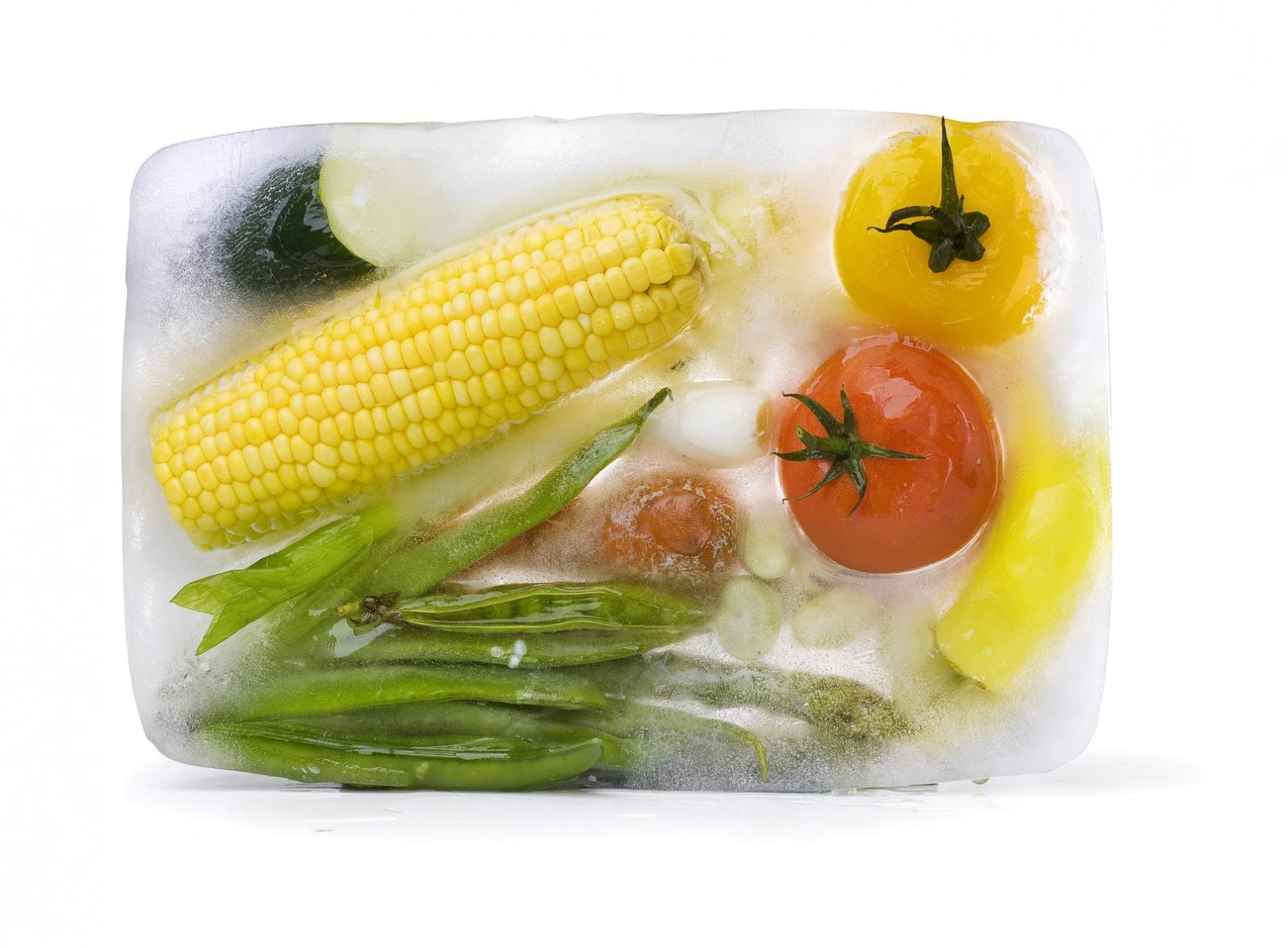 Assorted frozen vegetables